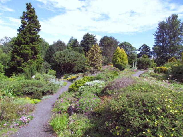 St Andrews Botanic Garden Rock Garden