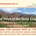 Caley Lecture – Tuesday 15th January 2019