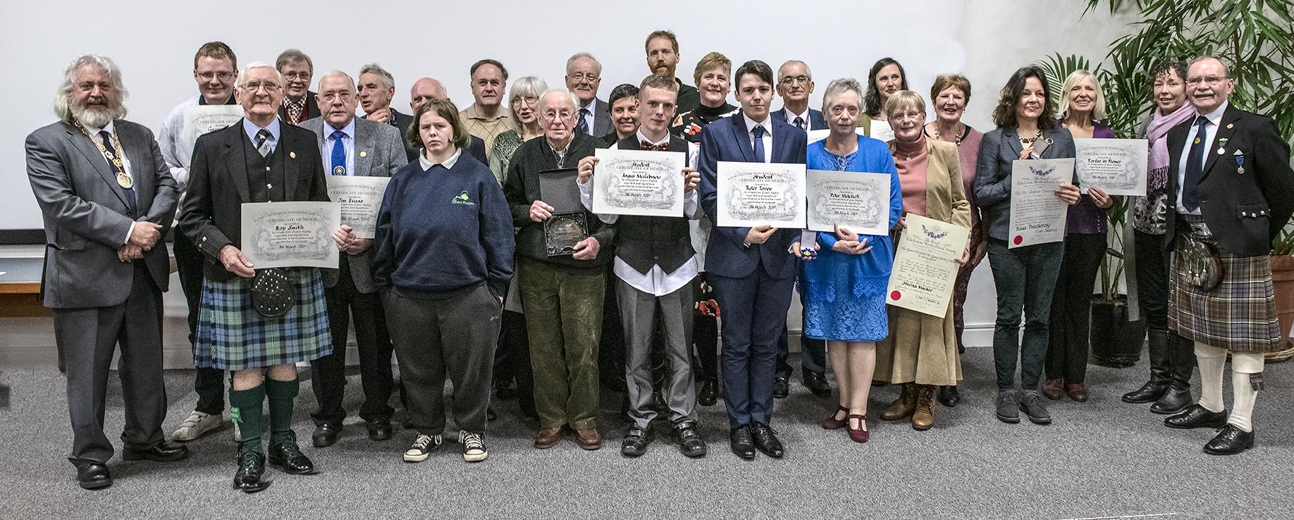 Caley Award Winners 2019