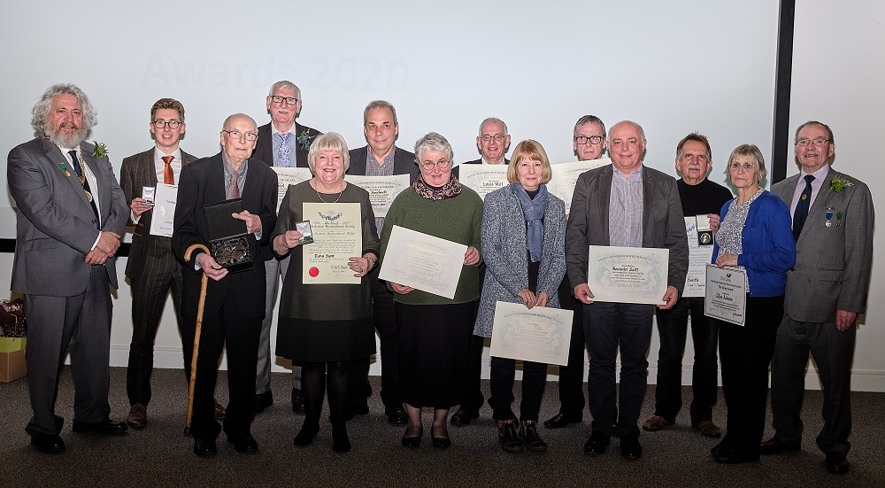 Caley Award Recipients 2020